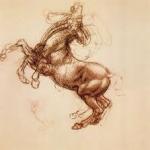 animated horse